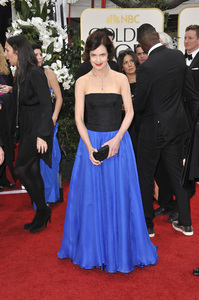 """""""The Golden Globe Awards - 69th Annual"""" (Arrivals) Elizabeth McGovern1-15-2012 © 2012 Jean Cummings - Image 24150_0208"""