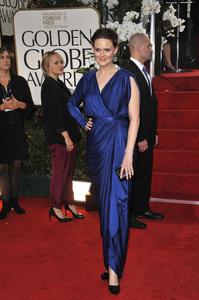"""The Golden Globe Awards - 69th Annual"" (Arrivals) Emily Deschanel1-15-2012 © 2012 Jean Cummings - Image 24150_0216"