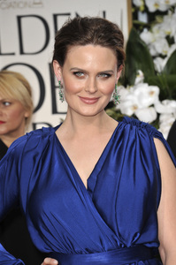 """The Golden Globe Awards - 69th Annual"" (Arrivals) Emily Deschanel1-15-2012 © 2012 Jean Cummings - Image 24150_0217"