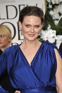 """The Golden Globe Awards - 69th Annual"" (Arrivals) Emily Deschanel1-15-2012 © 2012 Jean Cummings - Image 24150_0217"