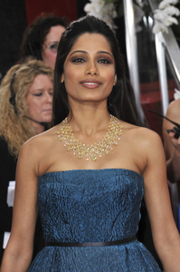 """The Golden Globe Awards - 69th Annual"" (Arrivals) Freida Pinto1-15-2012 © 2012 Jean Cummings - Image 24150_0234"