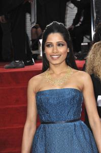 """The Golden Globe Awards - 69th Annual"" (Arrivals) Freida Pinto1-15-2012 © 2012 Jean Cummings - Image 24150_0235"