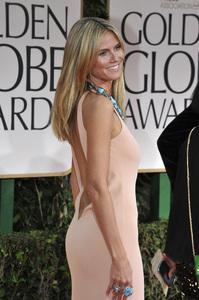 """The Golden Globe Awards - 69th Annual"" (Arrivals) Heidi Klum1-15-2012 © 2012 Jean Cummings - Image 24150_0246"