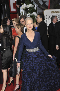 Helen Mirren at the 69th Golden Globe Awards at the Beverly Hilton Hotel.January 15, 2012  Beverly Hills, CAPicture: Jean Cummings - Image 24150_0247