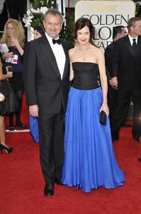 """The Golden Globe Awards - 69th Annual"" (Arrivals) Hugh Bonneville, Elizabeth McGovern1-15-2012 © 2012 Jean Cummings - Image 24150_0251"