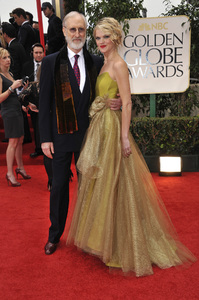 """""""The Golden Globe Awards - 69th Annual"""" (Arrivals) James Cromwell, Missi Pyle1-15-2012 © 2012 Jean Cummings - Image 24150_0254"""