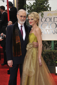"""""""The Golden Globe Awards - 69th Annual"""" (Arrivals) James Cromwell, Missi Pyle1-15-2012 © 2012 Jean Cummings - Image 24150_0255"""