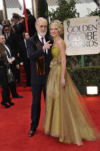 """""""The Golden Globe Awards - 69th Annual"""" (Arrivals) James Cromwell, Missi Pyle1-15-2012 © 2012 Jean Cummings - Image 24150_0256"""