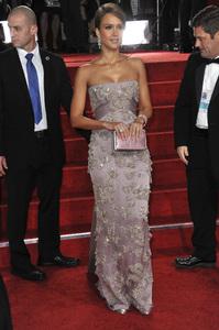 """The Golden Globe Awards - 69th Annual"" (Arrivals) Jessica Alba1-15-2012 © 2012 Jean Cummings - Image 24150_0264"