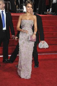 """The Golden Globe Awards - 69th Annual"" (Arrivals) Jessica Alba1-15-2012 © 2012 Jean Cummings - Image 24150_0265"