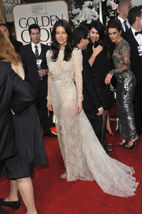 """The Golden Globe Awards - 69th Annual"" (Arrivals) Jessica Biel1-15-2012 © 2012 Jean Cummings - Image 24150_0267"