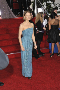 """""""The Golden Globe Awards - 69th Annual"""" (Arrivals) Jodie Foster1-15-2012 © 2012 Jean Cummings - Image 24150_0271"""