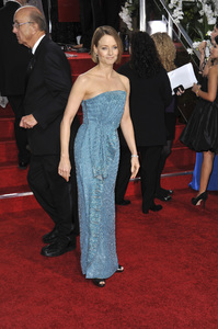 """""""The Golden Globe Awards - 69th Annual"""" (Arrivals) Jodie Foster1-15-2012 © 2012 Jean Cummings - Image 24150_0274"""