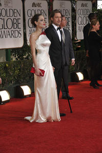 """The Golden Globe Awards - 69th Annual"" (Arrivals) Angelina Jolie, Brad Pitt1-15-2012 © 2012 Jean Cummings - Image 24150_0277"