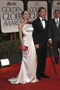 """The Golden Globe Awards - 69th Annual"" (Arrivals) Angelina Jolie, Brad Pitt1-15-2012 © 2012 Jean Cummings - Image 24150_0278"