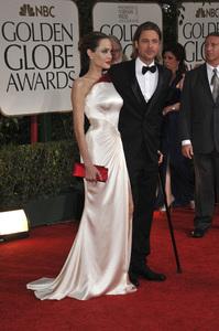 """The Golden Globe Awards - 69th Annual"" (Arrivals) Angelina Jolie, Brad Pitt1-15-2012 © 2012 Jean Cummings - Image 24150_0279"