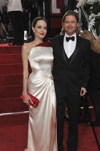 """The Golden Globe Awards - 69th Annual"" (Arrivals) Angelina Jolie, Brad Pitt1-15-2012 © 2012 Jean Cummings - Image 24150_0280"