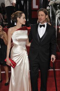 """The Golden Globe Awards - 69th Annual"" (Arrivals) Angelina Jolie, Brad Pitt1-15-2012 © 2012 Jean Cummings - Image 24150_0281"