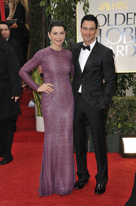 """The Golden Globe Awards - 69th Annual"" (Arrivals) Julianna Margulies, Keith Lieberthal1-15-2012 © 2012 Jean Cummings - Image 24150_0287"