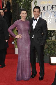 """The Golden Globe Awards - 69th Annual"" (Arrivals) Julianna Margulies, Keith Lieberthal1-15-2012 © 2012 Jean Cummings - Image 24150_0287"