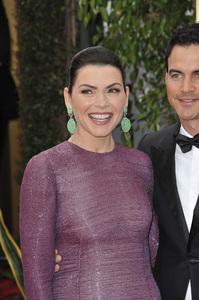 """The Golden Globe Awards - 69th Annual"" (Arrivals) Julianna Margulies, Keith Lieberthal1-15-2012 © 2012 Jean Cummings - Image 24150_0288"