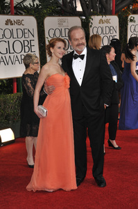 """The Golden Globe Awards - 69th Annual"" (Arrivals) Kelsey Grammer, Kayte Walsh1-15-2012 © 2012 Jean Cummings - Image 24150_0314"