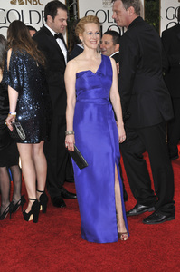 """The Golden Globe Awards - 69th Annual"" (Arrivals) Laura Linney1-15-2012 © 2012 Jean Cummings - Image 24150_0320"