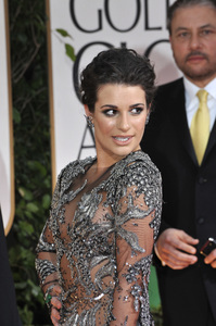 """The Golden Globe Awards - 69th Annual"" (Arrivals) Lea Michele1-15-2012 © 2012 Jean Cummings - Image 24150_0325"