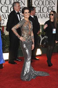 """The Golden Globe Awards - 69th Annual"" (Arrivals) Lea Michele1-15-2012 © 2012 Jean Cummings - Image 24150_0326"
