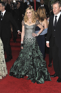 """""""The Golden Globe Awards - 69th Annual"""" (Arrivals) Madonna1-15-2012 © 2012 Jean Cummings - Image 24150_0330"""