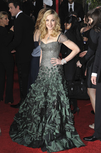 """""""The Golden Globe Awards - 69th Annual"""" (Arrivals) Madonna1-15-2012 © 2012 Jean Cummings - Image 24150_0331"""