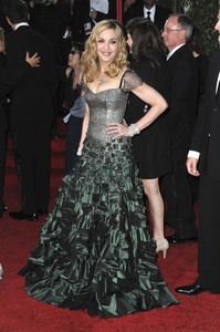 """""""The Golden Globe Awards - 69th Annual"""" (Arrivals) Madonna1-15-2012 © 2012 Jean Cummings - Image 24150_0332"""