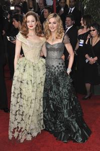 """The Golden Globe Awards - 69th Annual"" (Arrivals) Madonna, Andrea Riseborough1-15-2012 © 2012 Jean Cummings - Image 24150_0333"