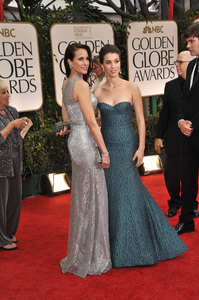 """""""The Golden Globe Awards - 69th Annual"""" (Arrivals) Andie MacDowell, Rainey Qualley1-15-2012 © 2012 Jean Cummings - Image 24150_0336"""