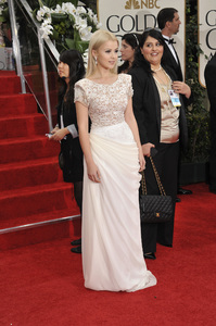 """""""The Golden Globe Awards - 69th Annual"""" (Arrivals) Mika Newton1-15-2012 © 2012 Jean Cummings - Image 24150_0341"""