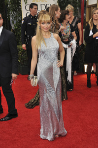 """""""The Golden Globe Awards - 69th Annual"""" (Arrivals) Nicole Ritchie1-15-2012 © 2012 Jean Cummings - Image 24150_0355"""