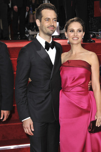"""The Golden Globe Awards - 69th Annual"" (Arrivals) Benjamin Millepied, Natalie Portman1-15-2012 © 2012 Jean Cummings - Image 24150_0376"