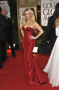 """""""The Golden Globe Awards - 69th Annual"""" (Arrivals) Reese Witherspoon1-15-2012 © 2012 Jean Cummings - Image 24150_0385"""