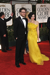"""""""The Golden Globe Awards - 69th Annual"""" (Arrivals) Seth Rogen1-15-2012 © 2012 Jean Cummings - Image 24150_0387"""