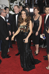 """The Golden Globe Awards - 69th Annual"" (Arrivals) Salma Hayek1-15-2012 © 2012 Jean Cummings - Image 24150_0396"