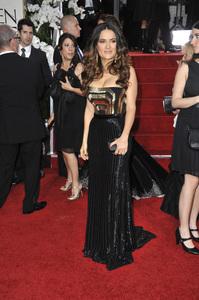 """The Golden Globe Awards - 69th Annual"" (Arrivals) Salma Hayek1-15-2012 © 2012 Jean Cummings - Image 24150_0397"