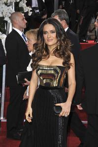 """The Golden Globe Awards - 69th Annual"" (Arrivals) Salma Hayek1-15-2012 © 2012 Jean Cummings - Image 24150_0398"