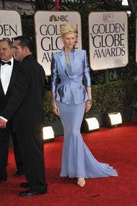 """The Golden Globe Awards - 69th Annual"" (Arrivals) Tilda Swinton1-15-2012 © 2012 Jean Cummings - Image 24150_0419"