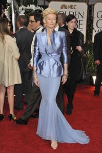 """The Golden Globe Awards - 69th Annual"" (Arrivals) Tilda Swinton1-15-2012 © 2012 Jean Cummings - Image 24150_0420"
