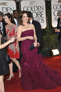 """""""The Golden Globe Awards - 69th Annual"""" (Arrivals) Tina Fey1-15-2012 © 2012 Jean Cummings - Image 24150_0422"""