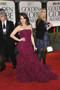 """""""The Golden Globe Awards - 69th Annual"""" (Arrivals) Tina Fey1-15-2012 © 2012 Jean Cummings - Image 24150_0423"""