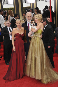 """""""The Golden Globe Awards - 69th Annual"""" (Arrivals) Penelope Ann Miller, James Cromwell, Uggie, Missi Pyle1-15-2012 © 2012 Jean Cummings - Image 24150_0428"""