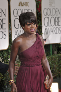 """The Golden Globe Awards - 69th Annual"" (Arrivals) Viola Davis1-15-2012 © 2012 Jean Cummings - Image 24150_0430"