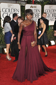 """The Golden Globe Awards - 69th Annual"" (Arrivals) Viola Davis1-15-2012 © 2012 Jean Cummings - Image 24150_0432"