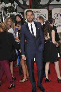 """""""The Golden Globe Awards - 69th Annual"""" (Arrivals) Zachary Levi1-15-2012 © 2012 Jean Cummings - Image 24150_0435"""